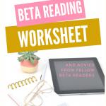 Free Beta Reading Worksheet - HEA Novel Thoughts